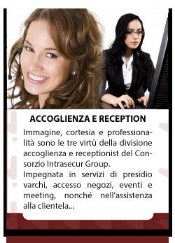 ACCOGLIENZA-RECEPTION